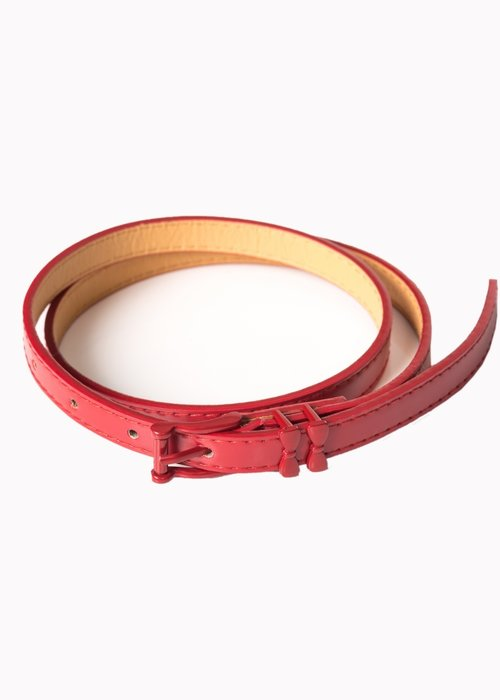 Banned Ceinture Come Back Rouge