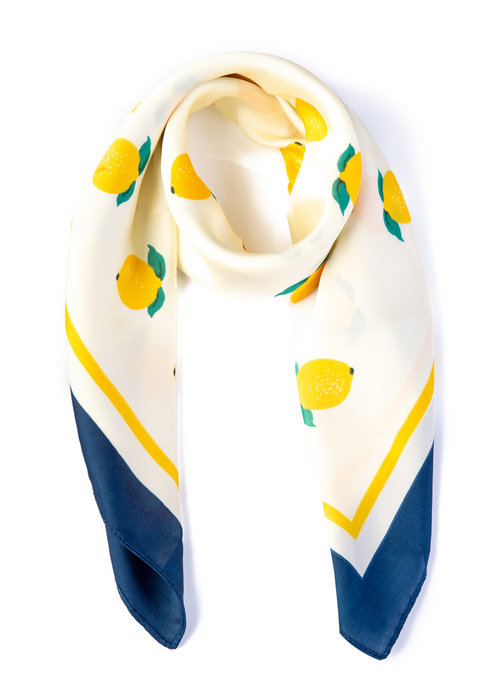 Banned Foulard Pearl Ivy Citron