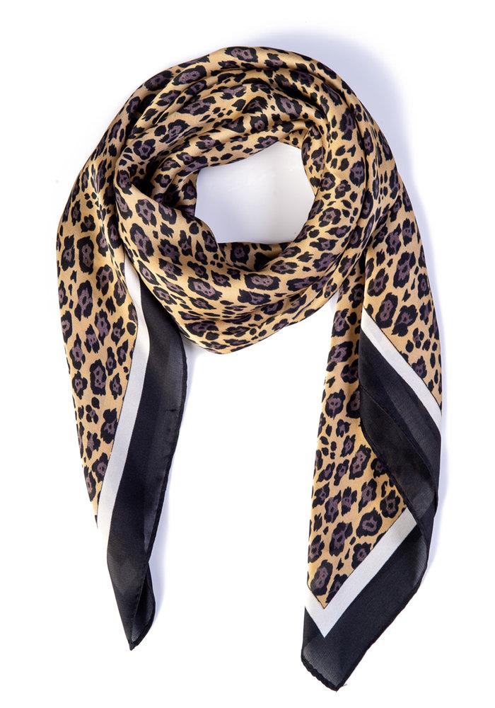 Foulard Pearl Ivy Leopard