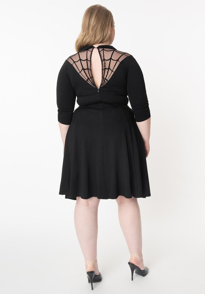 Robe Spider Web Endora + Noir
