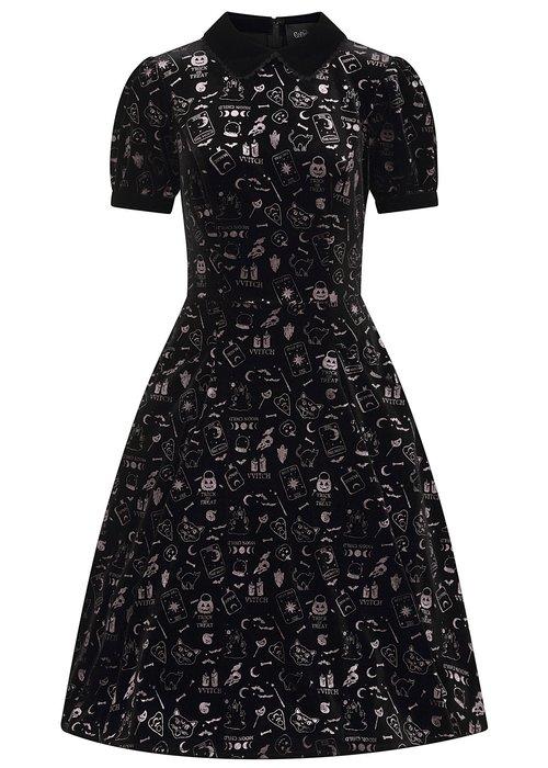 Collectif Robe Peta Spooky Noire +