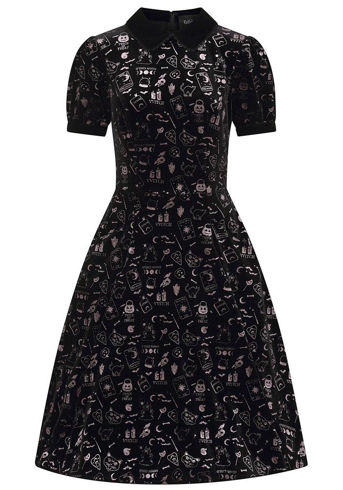 Peta Spooky Black Dress +
