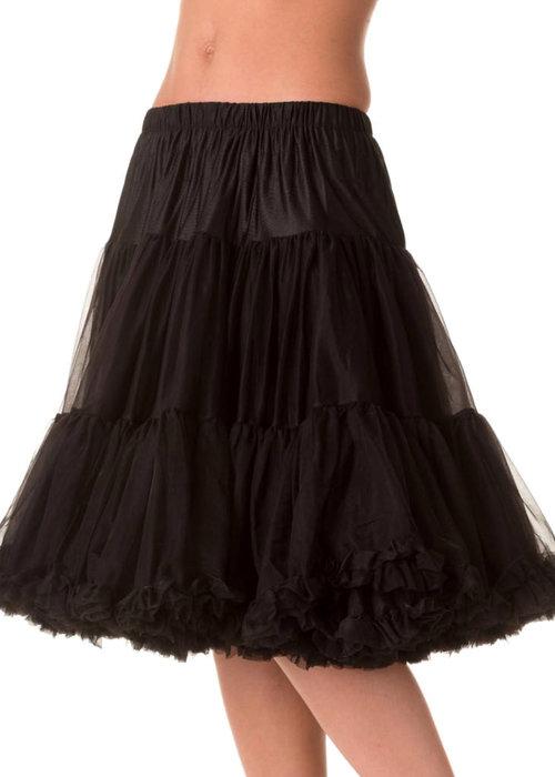 Banned Black Starlite Petticoat