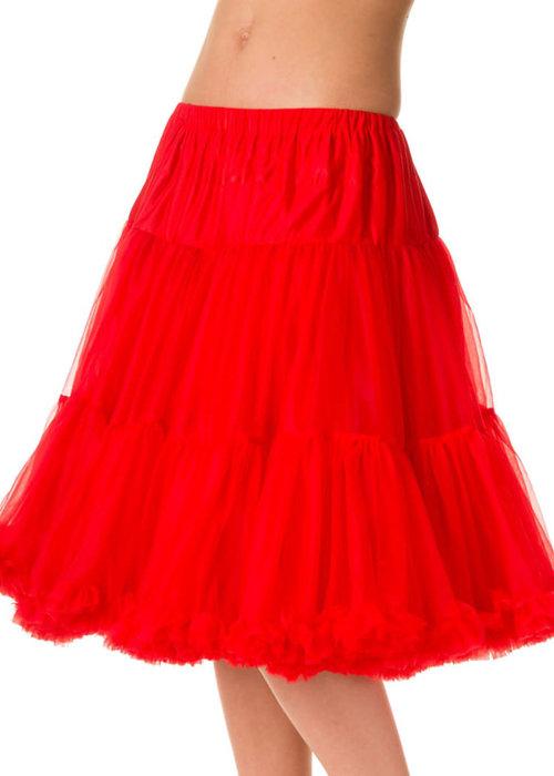 Banned Red Starlite Petticoat