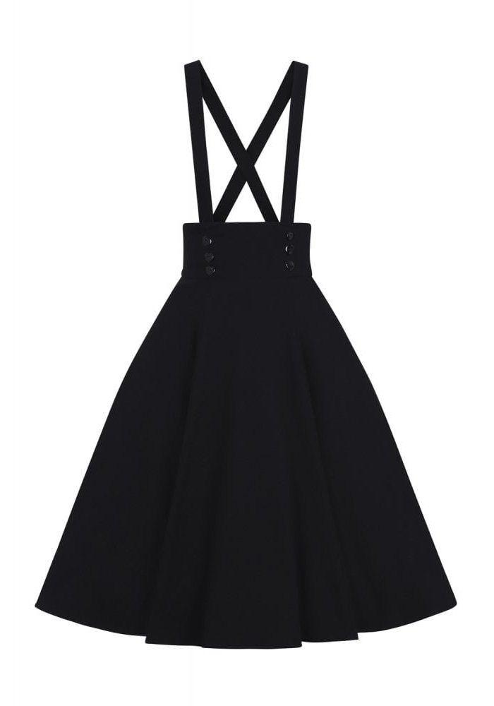 Black Ronnie Swing Skirt