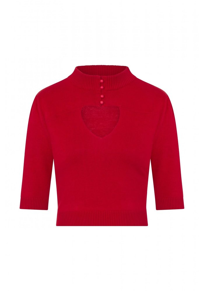 Red Shirley Jumper Rouge Top +