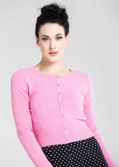 Hell Bunny Pink Cardigan Paloma