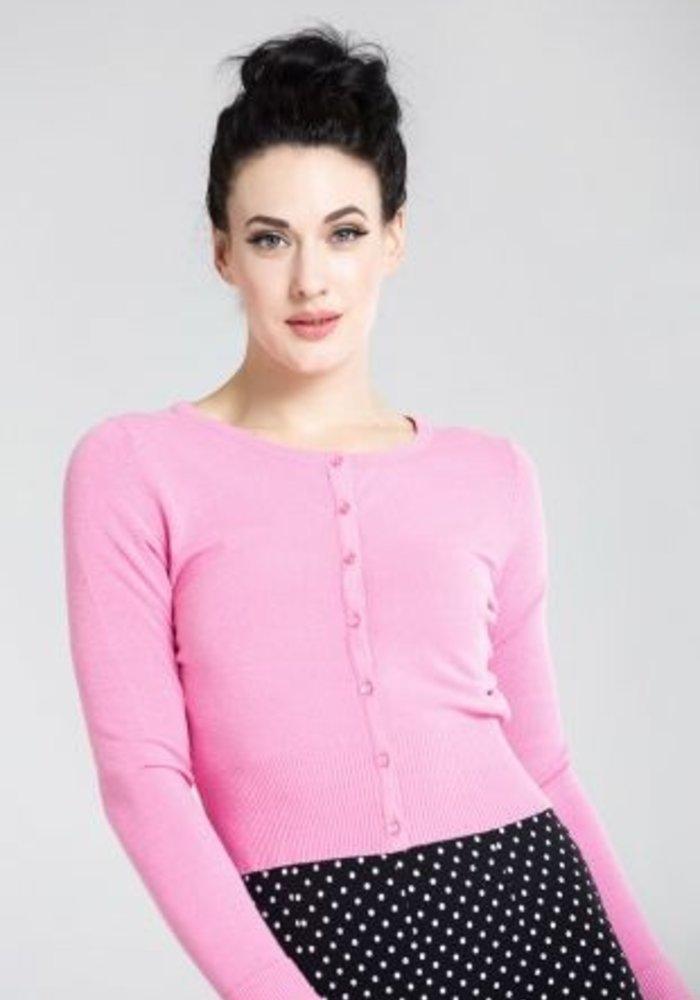 Pink Cardigan Paloma