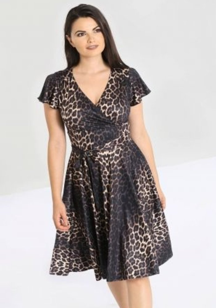 Eartha Leopard Dress