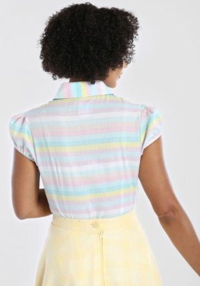 Rainbow Multi-Colors Blouse
