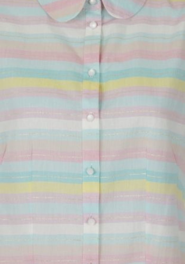 Blouse Rainbow Multi-Couleur