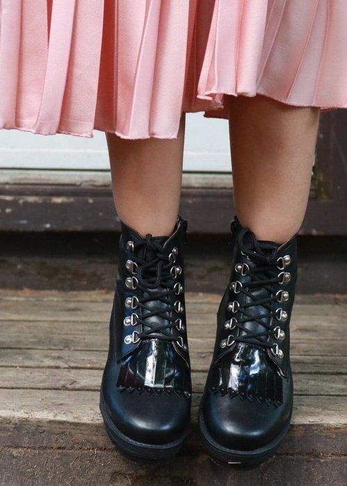Anna Maria Dessin Ana Black Boots