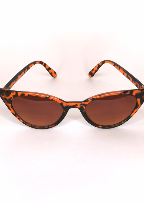 Kitsch'N Swell Lola Turtle Shell Sunglasses
