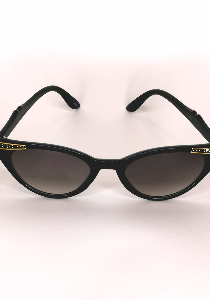 Lana Black & Gold Sunglasses