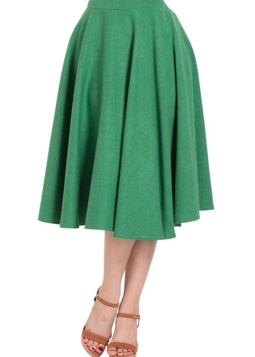Voodoo Vixen Sandy Green Skirt