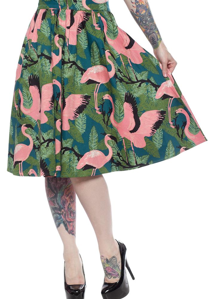 Emma Flamingo Skirt