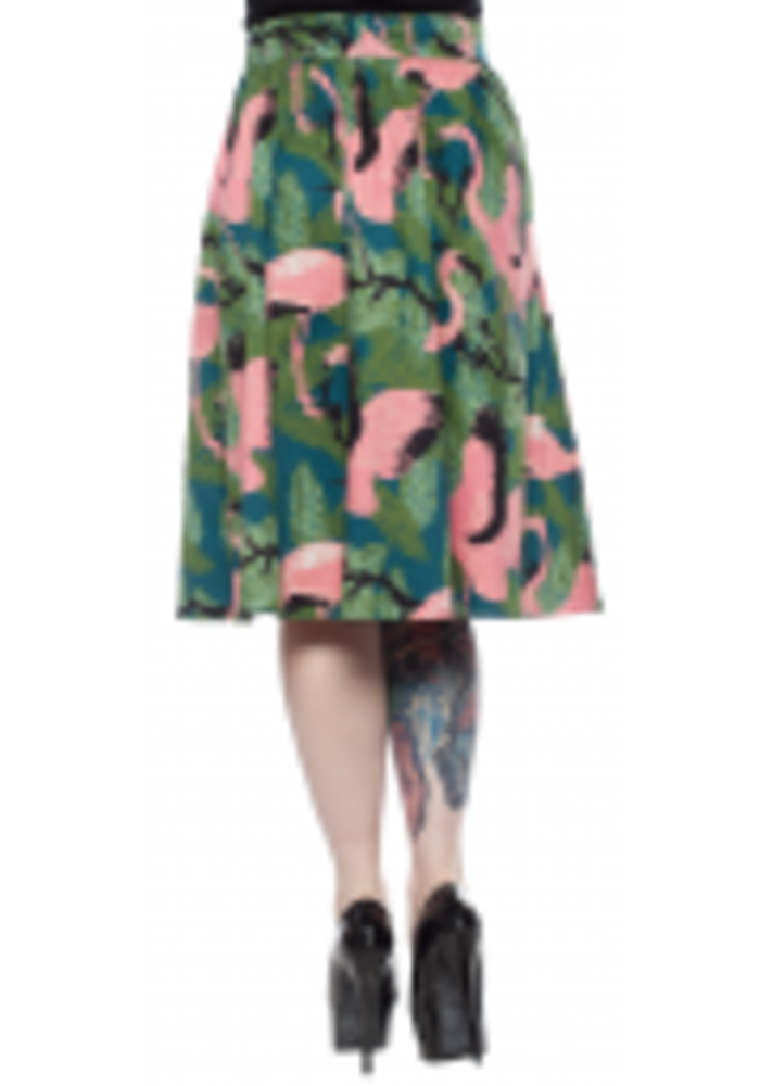 Jupe Emma Flamingo
