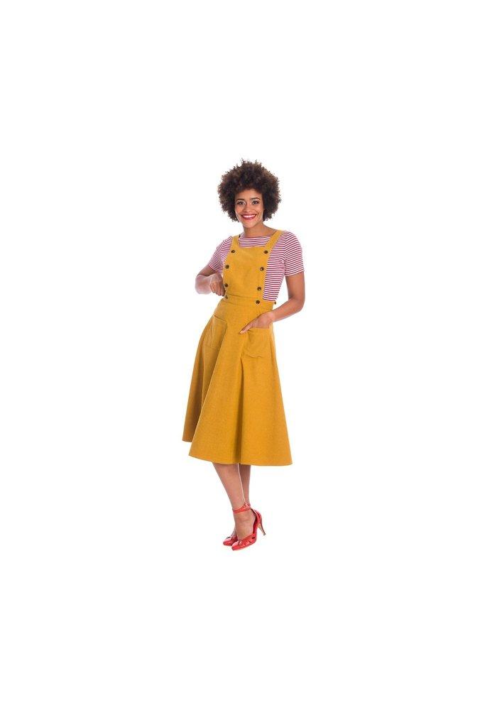 Book Smart Mustard Skirt