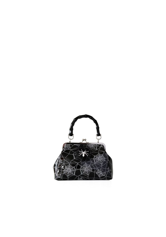 Killian Spiderweb Black Handbag