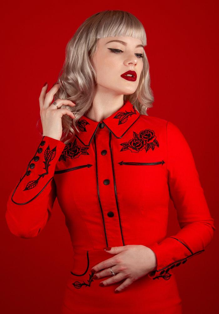 June Red Dress