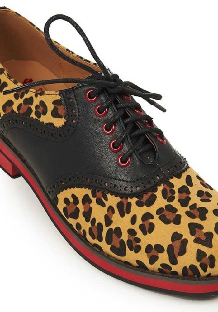 Chaussures Old Soul Dancer Léopard