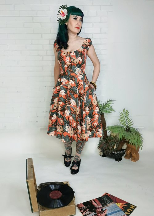 Hell Bunny Ukulele 50's Dress