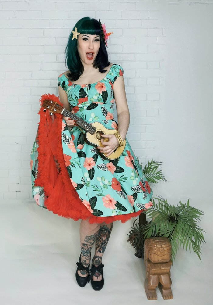 Moana Mint Dress