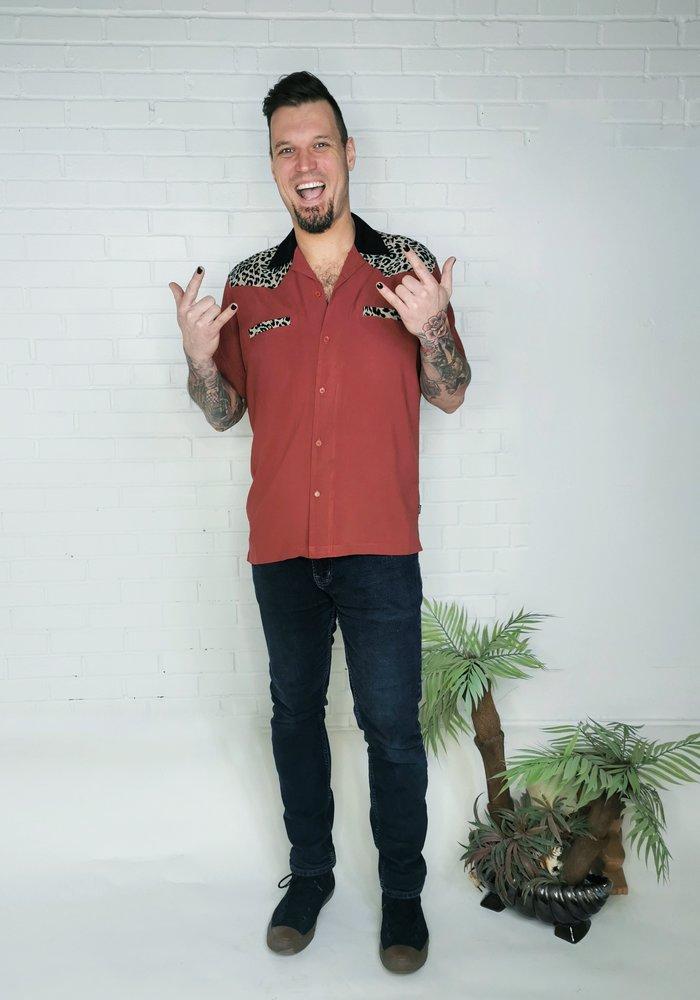 Jeffery Bowling Shirt Red