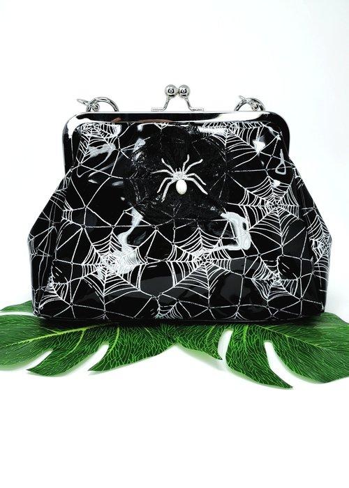 Banned Sac Killian Spiderweb Noir