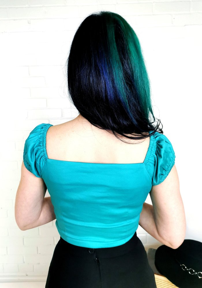 Top Dolores Turquoise