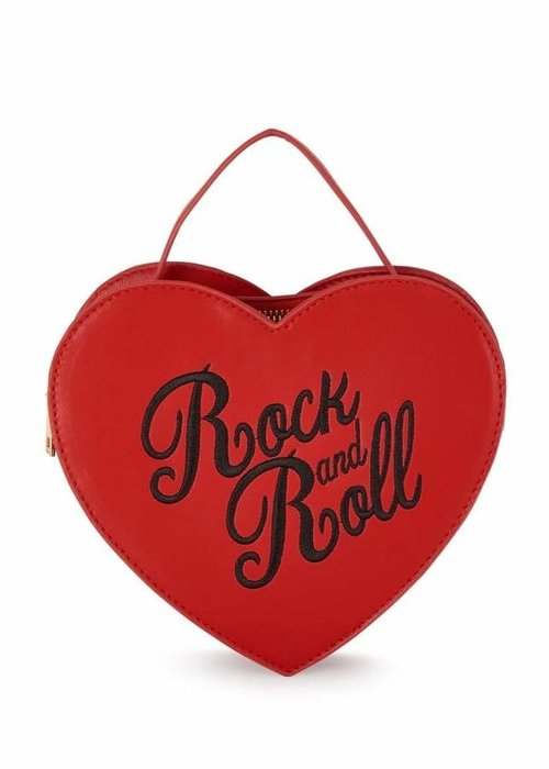 Collectif Sac Bina Rock And Roll Rouge