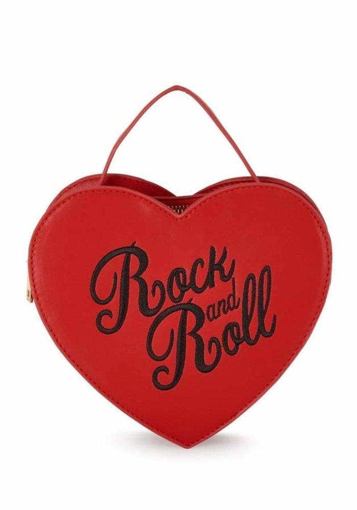 Sac Bina Rock And Roll Rouge