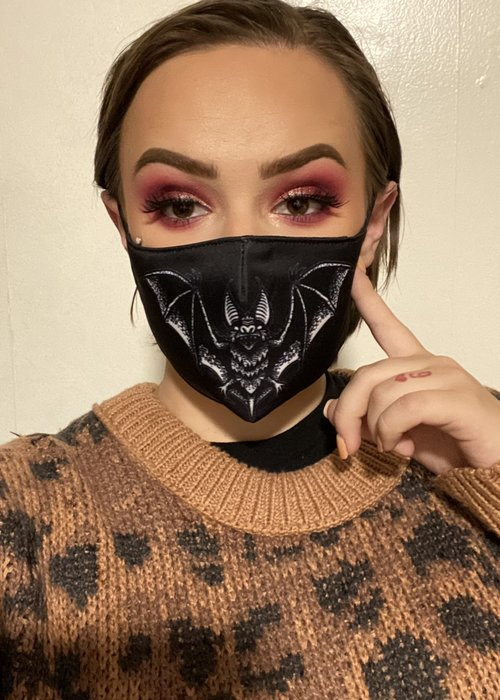 sourpuss Masque Spooksville Bat