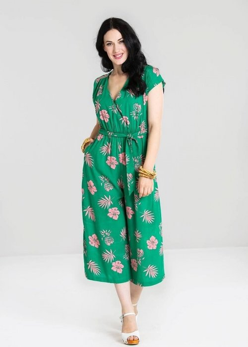 Hell Bunny Jumpsuit Ananas