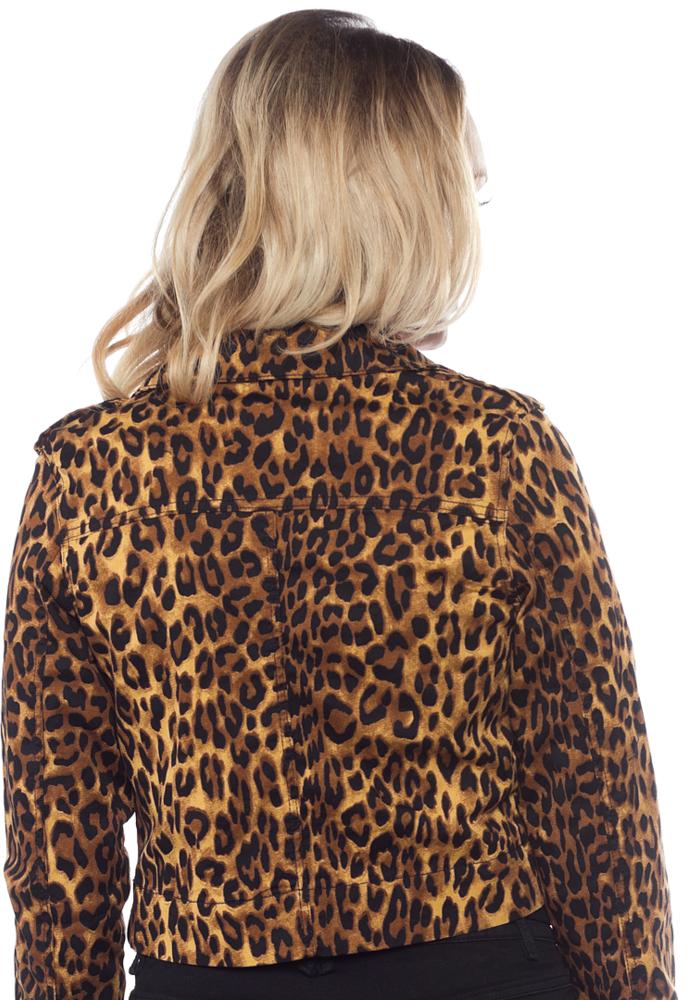 Moto Leopard Jacket