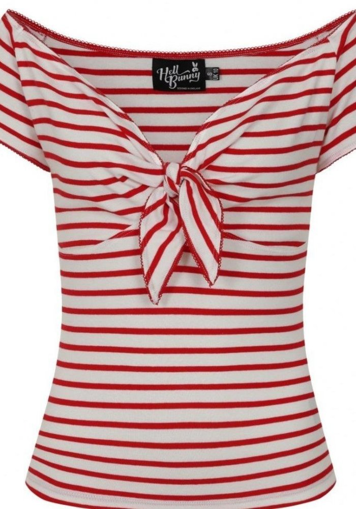 Dolly Top Red