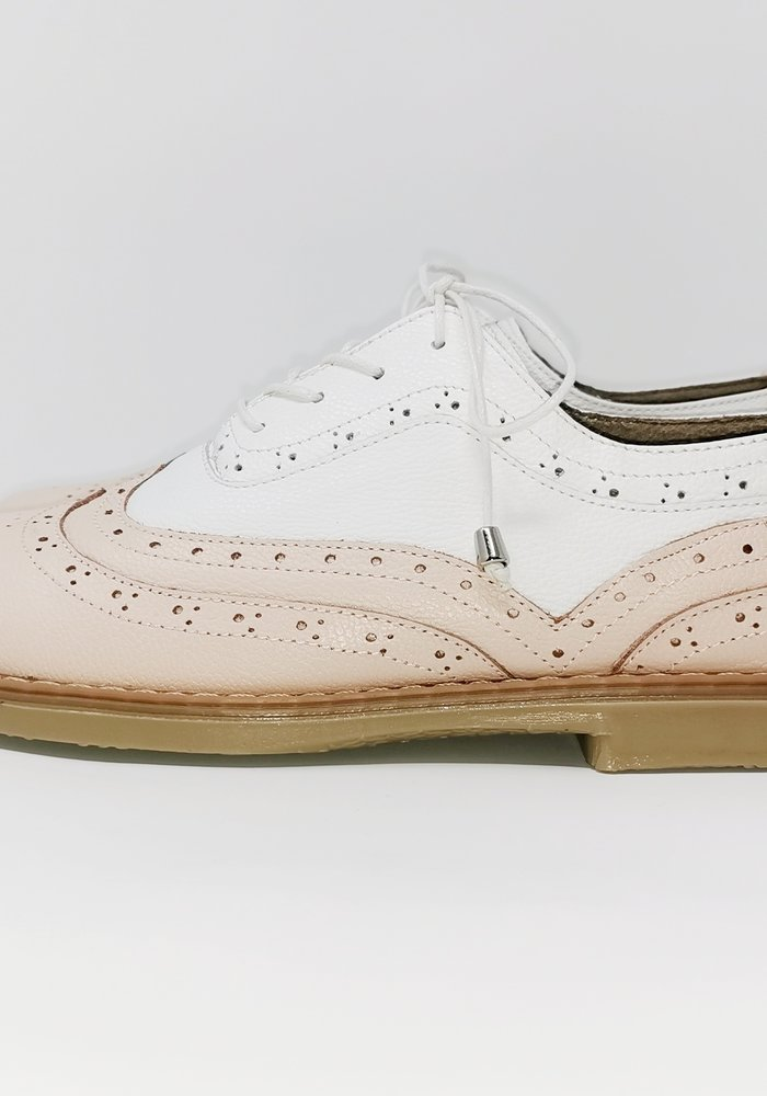 Pink Oxford Shoes
