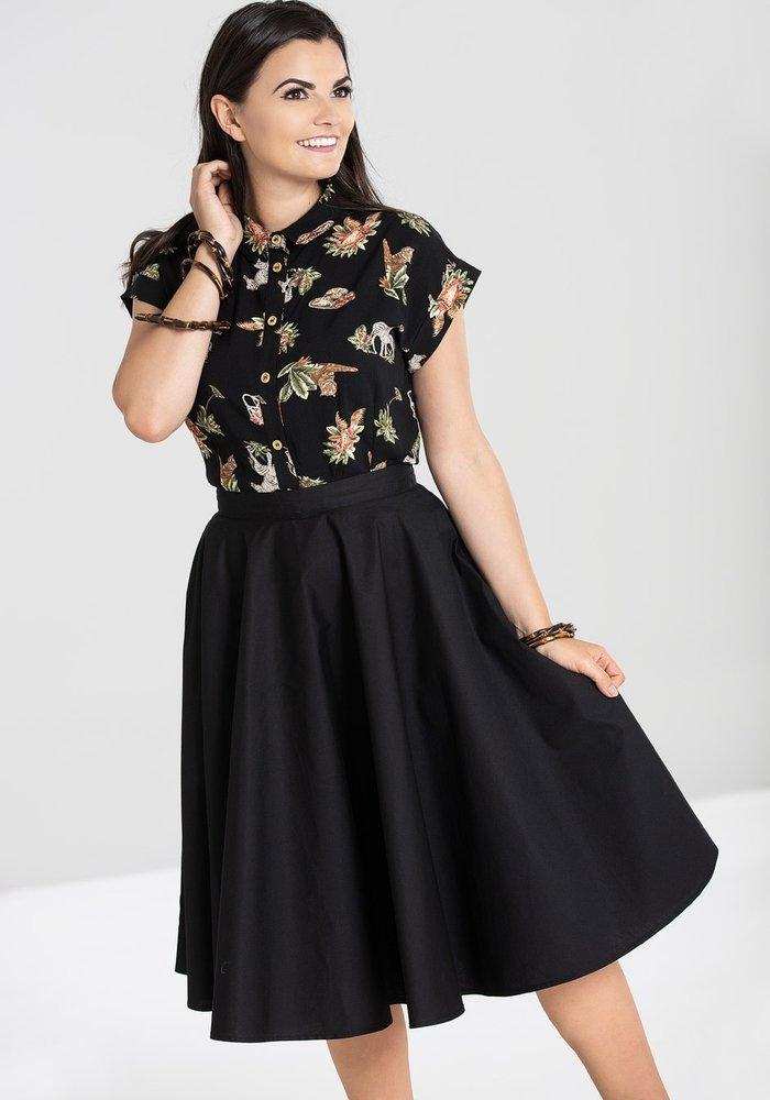 Black Paula 50's Skirt