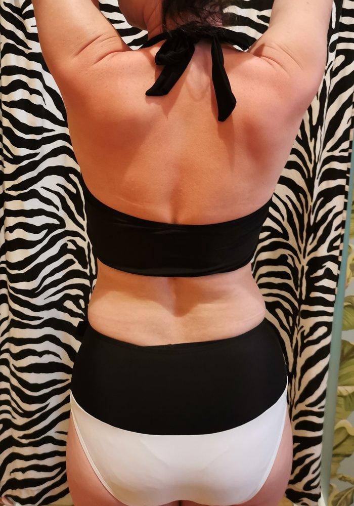 Top Bikini Noir & Blanc