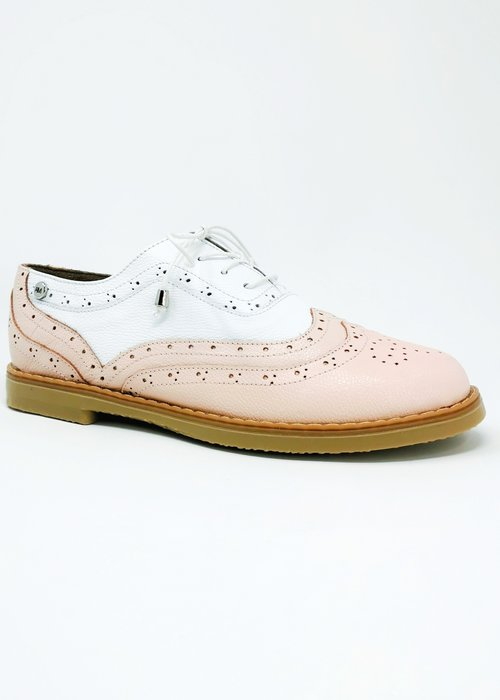 Anna Maria Dessin Pink Oxford Shoes