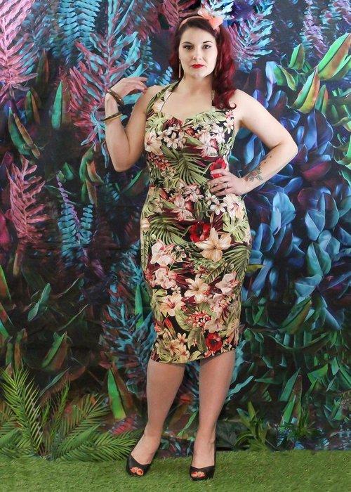 Rollie Beautyfield Delphine Tropical Dress Multi-Colors