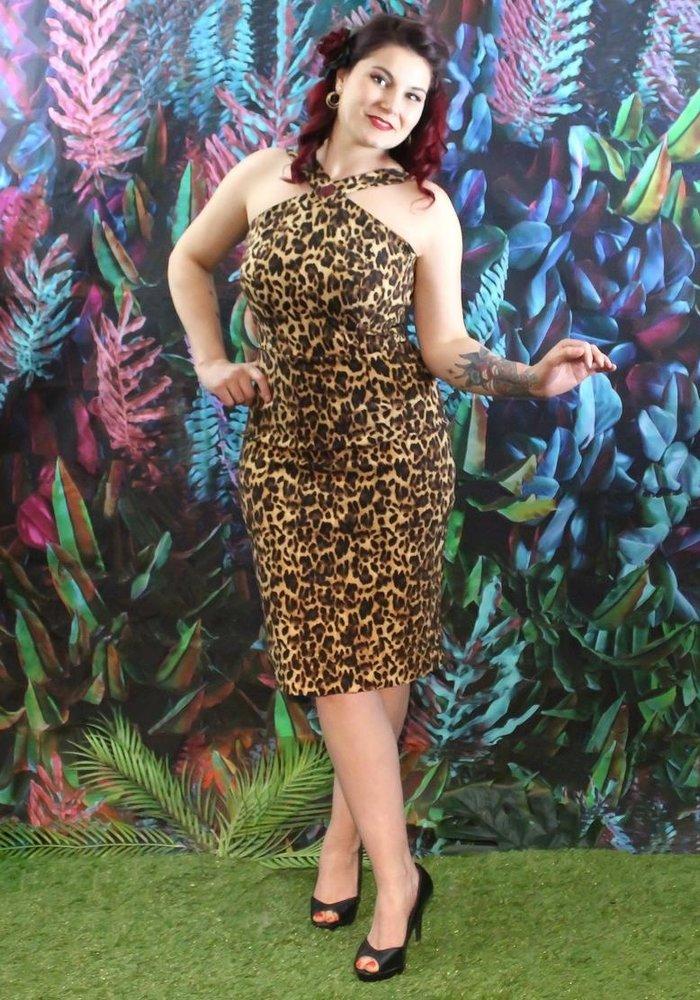 Amanda Dress Leopard