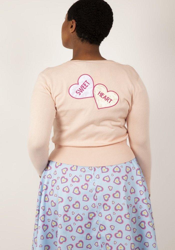 Cardigan Love heart
