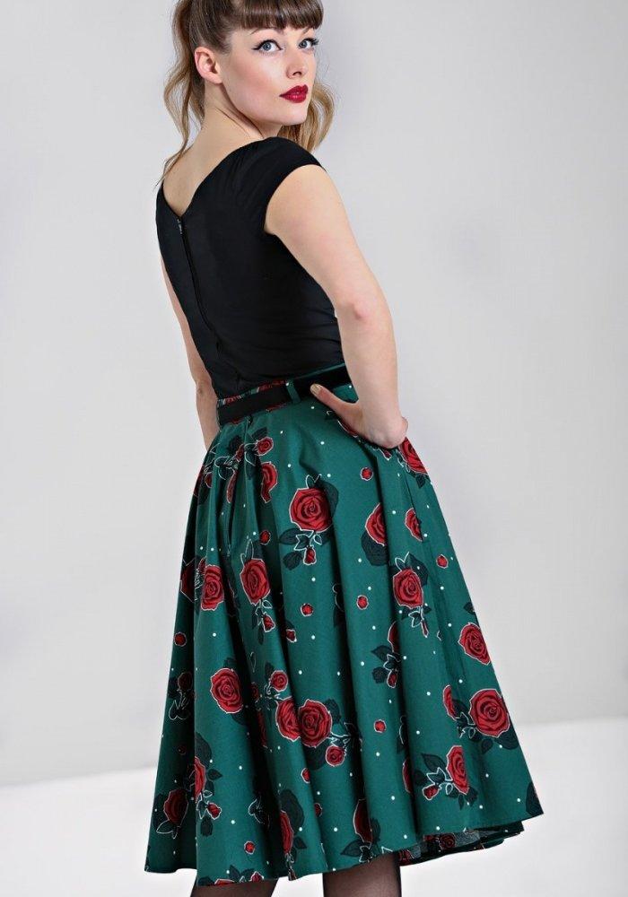 Jupe Leonora Verte
