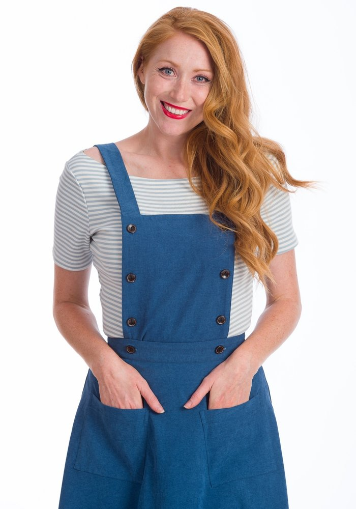 Blue Book Smart Skirt