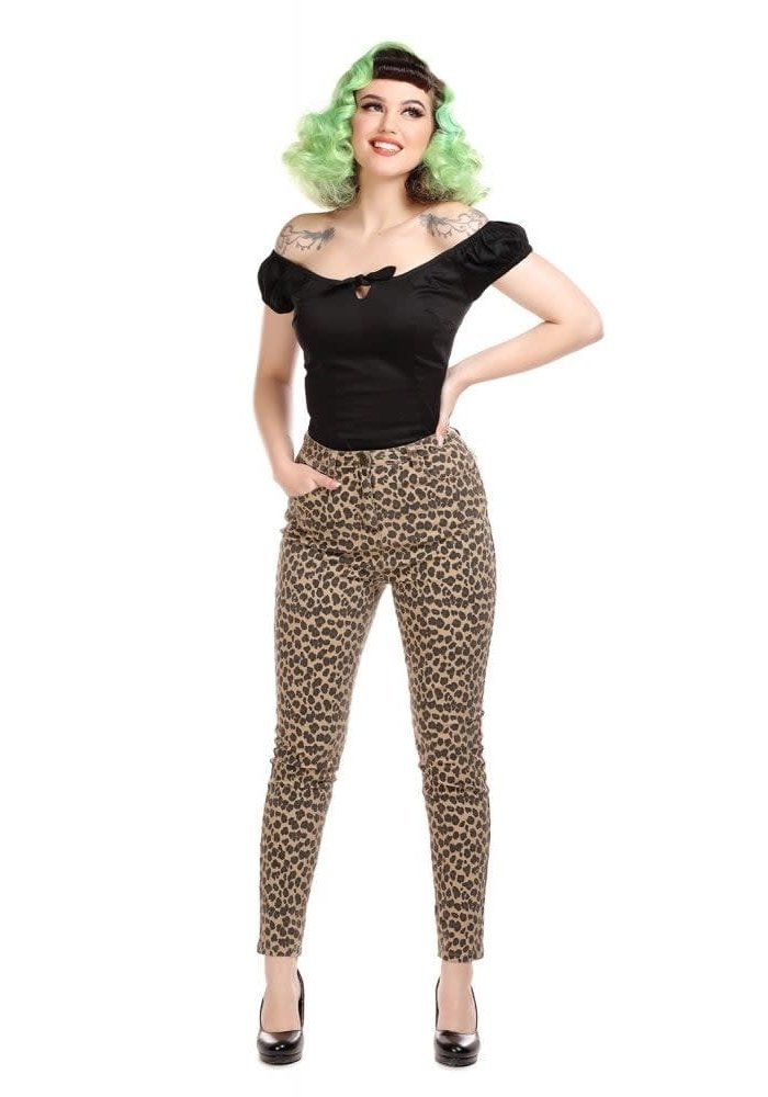 Pantalon Maddy Leopard 2XL