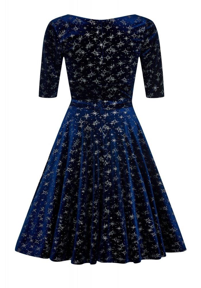 Robe Trixie Sparkle Doll Velour Minuit