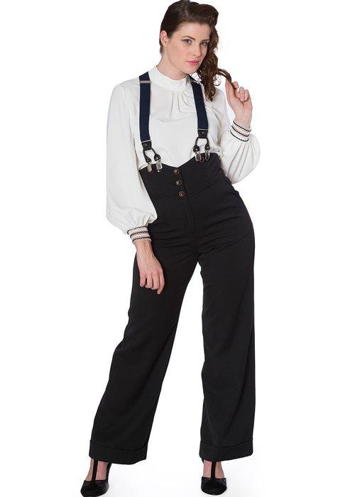 Banned Pantalon Girl Boss Noir