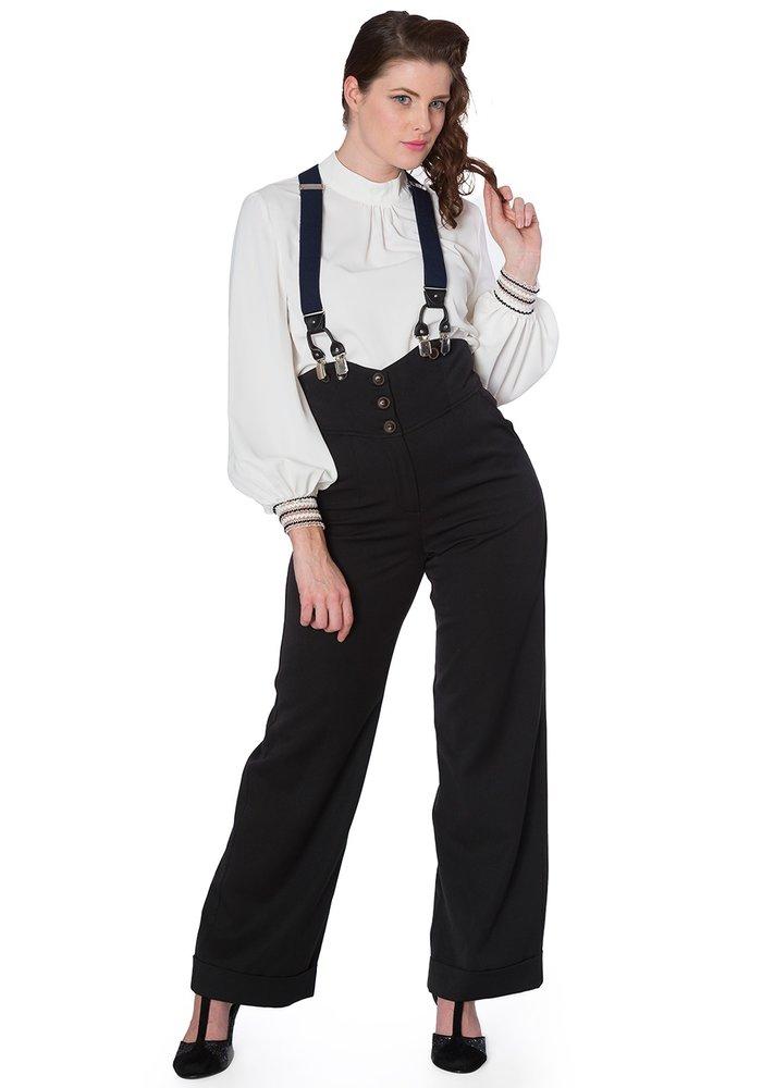 Pantalon Girl Boss Noir