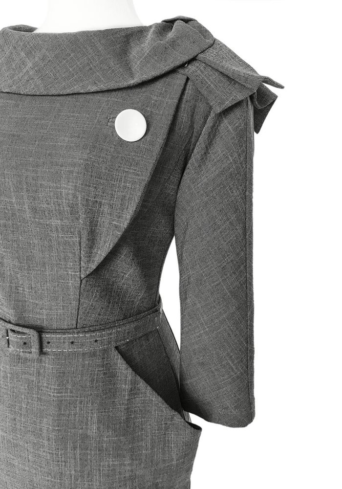 Grey Evita Dress
